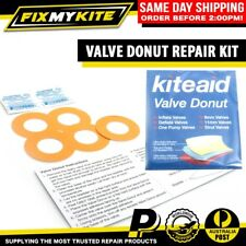 VALVE REPAIR KIT BY KITEAID FOR LEAKING DELAMINATED KITESURF INFLATABLE BLADDERS