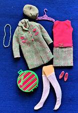 Vintage Barbie Francie 1967 Fashion Tweedsomes  MINT & Complete  HTF!!