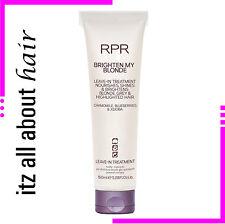 RPR BRIGHTEN MY BLONDE Treatment New Packaging
