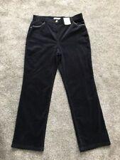 M&s Classic Standard Rise Straight Cord Size 12 Short BNWT Free Sameday P&p