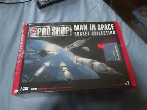 AMT Pro Shop 1/200 Man In Space Rocket Collection SEALED KIT