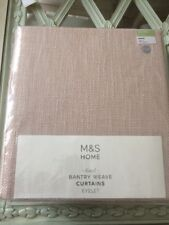 "Lined Bantry Weave Eyelet Curtains 63"" W X 72"" D £109 Natural Neutral"