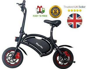 MoovWay EBike Electric Scooter EFolding Bike 350W Bicycle Cycling ECity Commuter