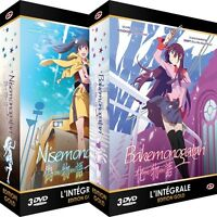★ Bakemonogatari & Nisemonogatari ★ Intégrale - 2 Coffrets Gold - 6 DVD