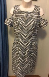 PENDLETON Portland Collection • Aztec Wool Cutout Sheath Dress