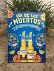 Corona beer Dia De Los Muertos(Day of The Dead) tin metal sign Skull New
