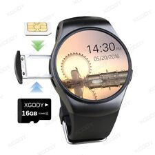 Bluetooth Smart Wrist Watch SIM GSM Heart Rate Phone Mate For IOS Android iPhone