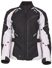 -20% MODEKA taillierte Damen Motorradjacke weiß SCARLETT Jacke Textil UVP139,90€