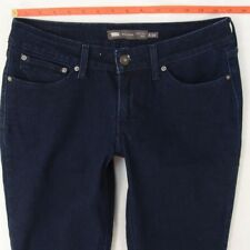 Ladies Womens Levis BOLD CURVE SKINNY Stretch Blue Jeans W30 L32 UK Size 10