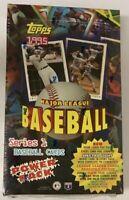 1995 Topps Series 1 Power Pack Jumbo Baseball Hobby Box 36 Pack Factory Sealed