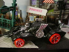 2017 Street Beasts Exclusive ∞Knight Draggin'∞black/oh5 red☆Loose Hot Wheels