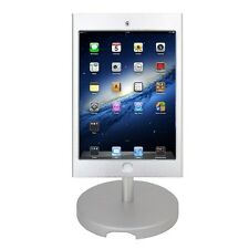 New iPad Mini POS Kiosk Stand Enclosure w/Security Lock & Key Desktop Anti Theft