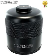 Torques Billet Aluminium Inspection Re-Usable Oil Filter In Black M20x1.5