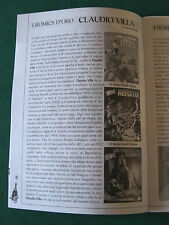 "CLAUDIO VILLA (TEX) RIYOKO IKEDA CHRIS WARE SU "" ROMICS 2010 "" CATALOGHINO"