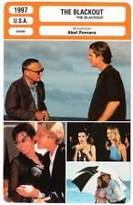 THE BLACKOUT - Modine,Schiffer,Dalle,Hopper,Ferrara (Fiche Cinéma) 1997