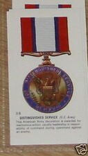 #38 distinguished service (us army) Medal card