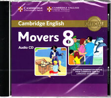 Cambridge English MOVERS 8 Official Examination Material AUDIO CD pbl 2013 @NEW@