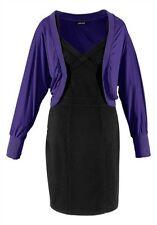 Shirtjacke Jacke Strickjacken von Laura Scott Gr. 34 40  lila
