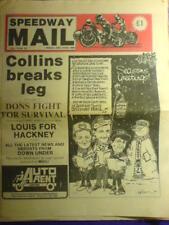 SPEEDWAY MAIL - 19 Dec 1986 vol 14 #38