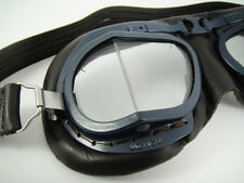 NEW HALCYON MK8 RAF WW2 Goggles AVIATOR Pilot Flying Motorcycle Racing Aviation