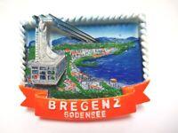Bodensee Bregenz Magnet  Seilbahn Poly 7 cm Germany Souvenir (375)