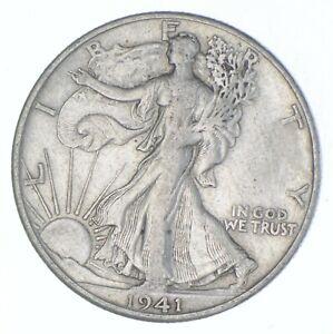 Better 1941-D - US Walking Liberty 90% Silver Half Dollar Coin Set Break *602