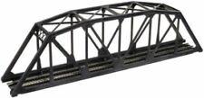 N Scale Black Through Truss Bridge Kit (Code 80) - Atlas #2570