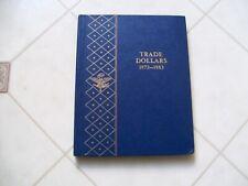 RARE WHITMAN BOOKSHELF ALBUM TRADE DOLLAR 1873-1883  FREE SHIPPING
