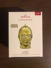 2018 Hallmark C-3Po Star Wars Ornament Collectible