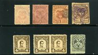 1899   >8>-  REPUBLICA DE COLOMBIA,-''COAT OF ARMS'',-STATES-ANTIOQUIA-SANTANDER