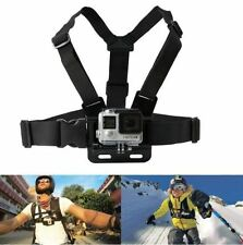 GoPro Adjustable Elastic Chest Strap Harness Mount for Hero 1 2 3 3+ 4 5 Camera