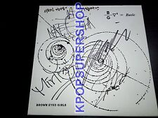 Brown Eyed Girls Vol. 6 - Basic Autographed Signed Promo CD Great Cond w/Message