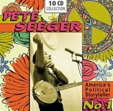 America's Political Storyteller No. 1 Pete Seeger Audio CD