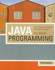 Java(TM) Programming: From Problem Analysis To Program Design