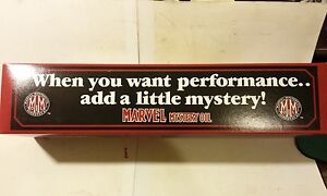 Taylor Made Marvel Mystery Oil Toy 1996 Box Truck 1st Edition