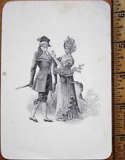 Menu: French 1899 Engraved Cover - Rable de Chevreuil a la Chasseur