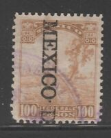 Mexico Fiscal Revenue Stamp 9-21-20 used