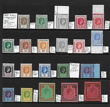 Leeward Is Stamp Collection George VI umm inc £1 x2. Total SG cat: £320++?