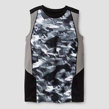 c9 Champion Boys Novelty Sleeveless Tech T-shirt Black/Gray