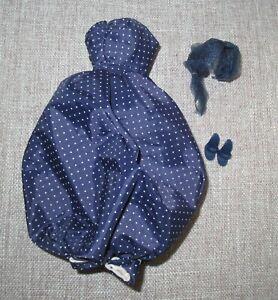 Barbie Reproduction GAY PARISIENNE Dress, Hat & Shoes NM Condition
