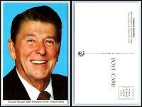 Vintage Postcard - President Ronald Reagan L21