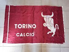 BANDIERA TORINO CALCIO BARBERO drapeau flag no ULTRAS GRANATA TORO anni 80