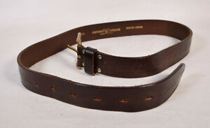 Emporio Armani Mens Leahter Belt Brown 85 34 Italy