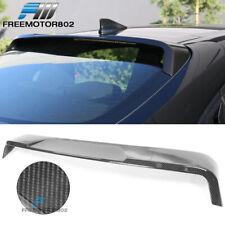 Fits 20 Toyota Corolla Sedan IKON Style Roof Spoiler Wing Carbon Fiber Print
