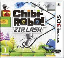 Chibi-robo! zip lash pour uk / eu 3DS (new & sealed)