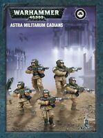 WARHAMMER 40K - ASTRA MILITARUM CADIANS (ETB)