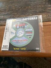 Ronny & The Daytonas: G.T.O + Sandy Brand new mini LP Japanese