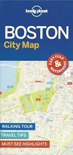 Lonely Planet Boston City Map (USA) *FREE SHIPPING - NEW*