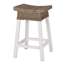 Hamptons Coastal Palm Beach Bar Stool