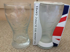London 2012 Olympics Coca Cola Glasses ~ McDonalds x 2